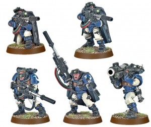 фигурка Фигурки для сборки Games Workshop 'Space Marine Scouts with Sniper Rifles' (99120101225)