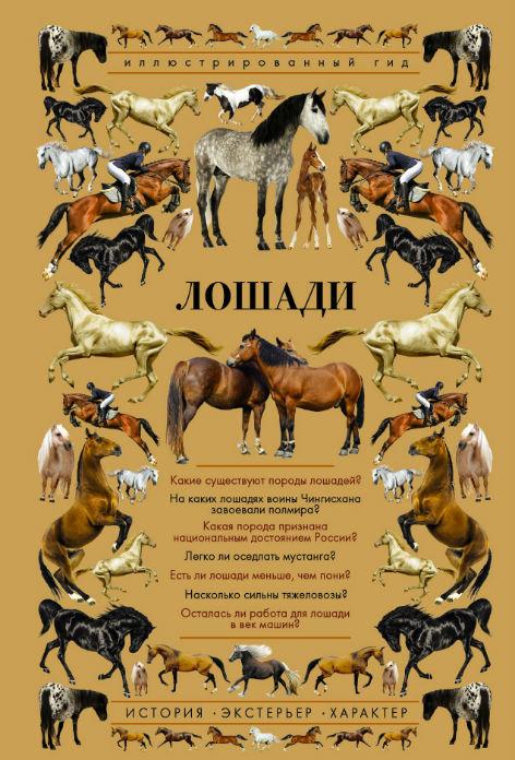 Лошади. Иллюстрированный гид, Анна Спектор, 978-5-17-109755-4  - купить со скидкой