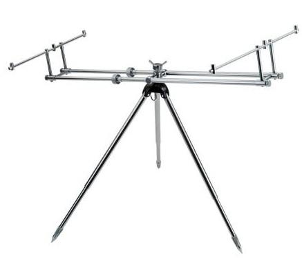 Купить Подставка DAM Alu Rod Pod Gunsmoke для 3 удилищ (2900011)