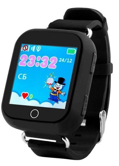 Купить Детские умные часы с GPS трекером TD-10 (Q150) Black (TD10BK), Motto