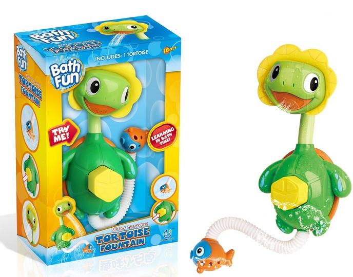 Купить Игрушка для ванны BathFun ХоКо 'Черепашка Насос' (9910)