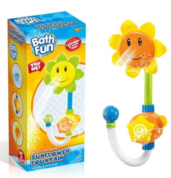 Купить Игрушка для ванны BathFun ХоКо 'Подсолнух — Насос' (9904А)