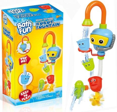 Купить Игрушка для ванны BathFun ХоКо 'Веселый Насос' (9908А)