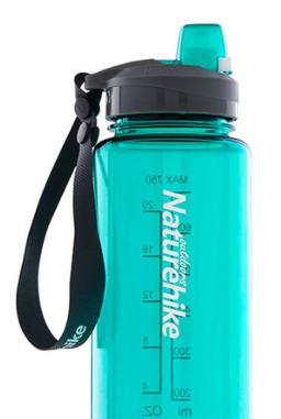 Купить Фляга спортивная NatureHike 'Sport bottle' 1.0 л зеленая (NH17S011-B)
