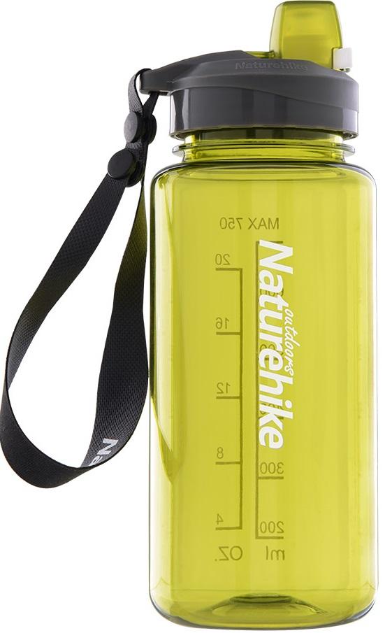 Купить Фляга спортивная NatureHike 'Sport bottle' 1.0 л желтая (NH17S011-B)