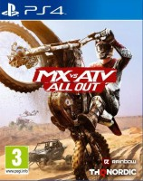 игра MX VS ATV ALL OUT PS4 (Русская Версия)
