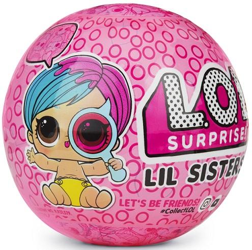 Купить Игровой набор с куклой L.O.L. S4 'Секретные Месседжи - Сестричка' (552147)