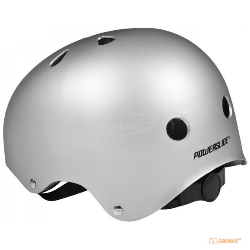 Купить Шлем Powerslide ALLROUND silver L/XL 58-62 (903220)