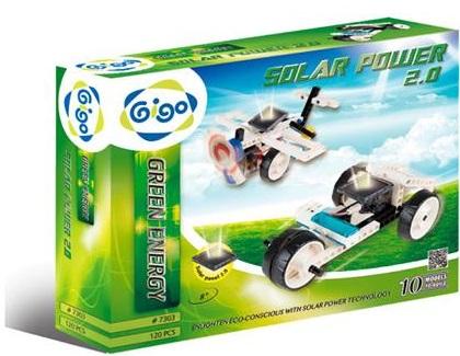 Купить Конструктор Gigo Энергия солнца 2.0 (7303)