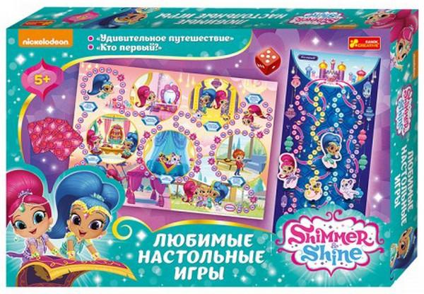 Купить Настольная игра 2 в 1 'Шиммер и Шайн' (17190008Р), Ranok