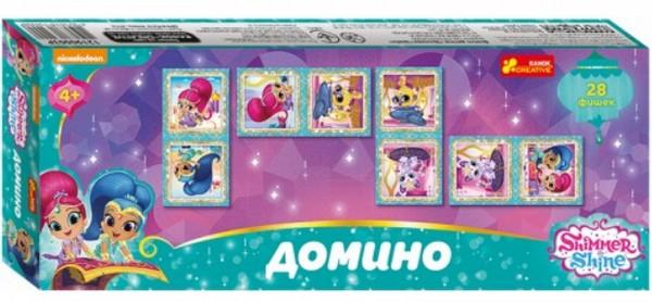 Купить Настольная игра Домино 'Шиммер и Шайн' (12190003Р), Ranok