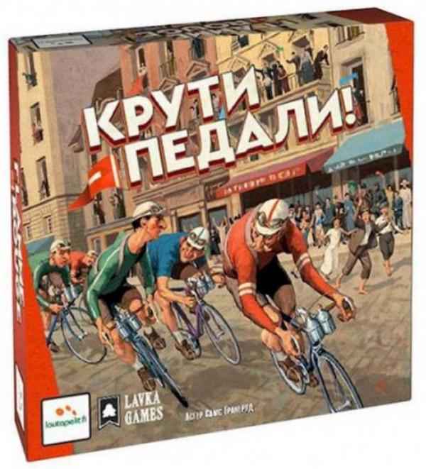 Купить Настольная игра 'Крути педали (Flamme Rouge)' (ПР01), GaGa Games
