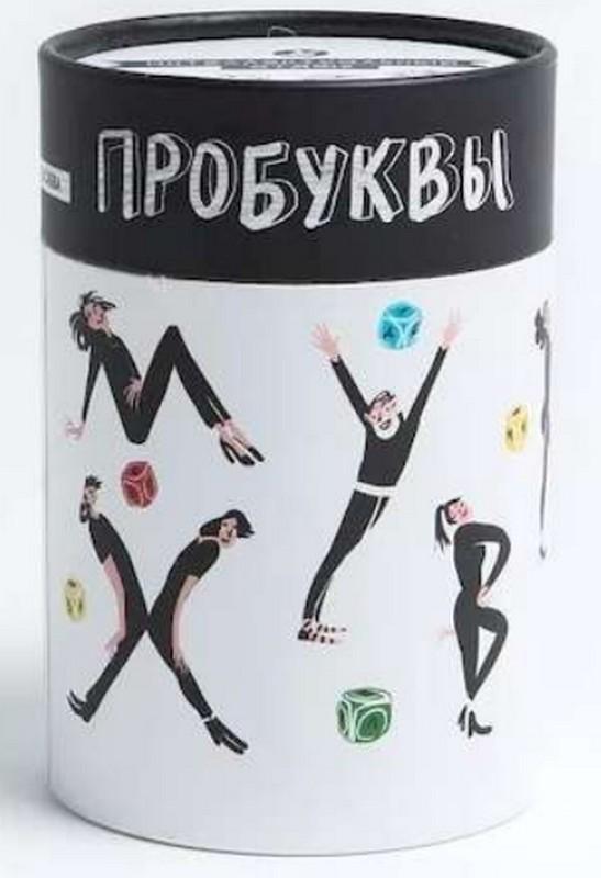 Купить Настольная игра 'Пробуквы' (тубус) (PP-430195), Простые правила