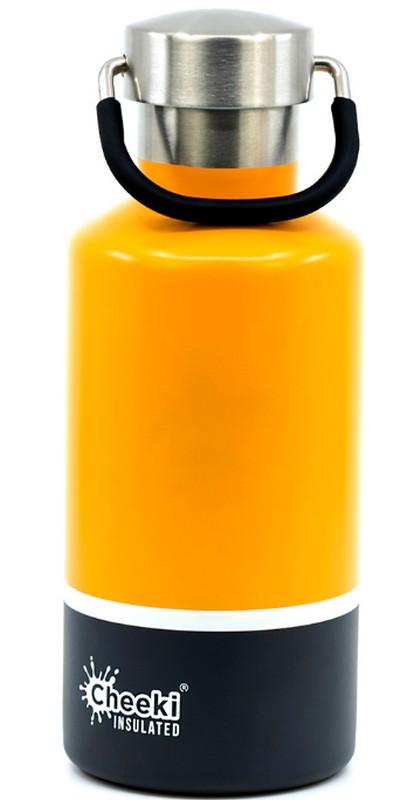 Купить Детский термос Cheeki Classic Insulated 400 мл Sunshine Grey (CIB400SG1)