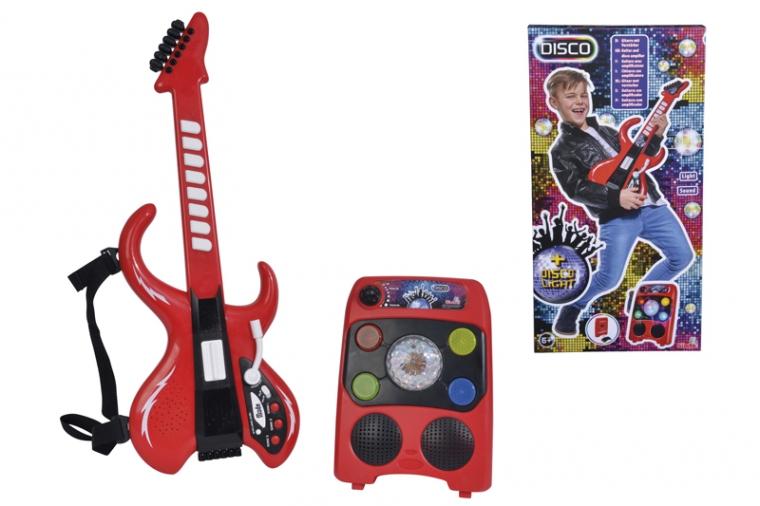 Купить Музыкальный инструмент Simba Диско 'Электрогитара с усилителем' (6834251)