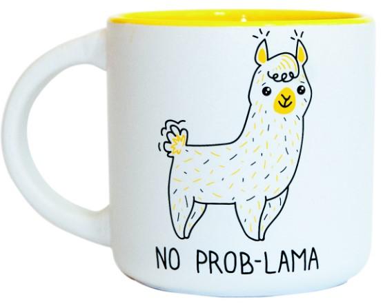 Купить Чашка 'No Prob-Lama' 350 мл (PDP3410), PAPAdesign