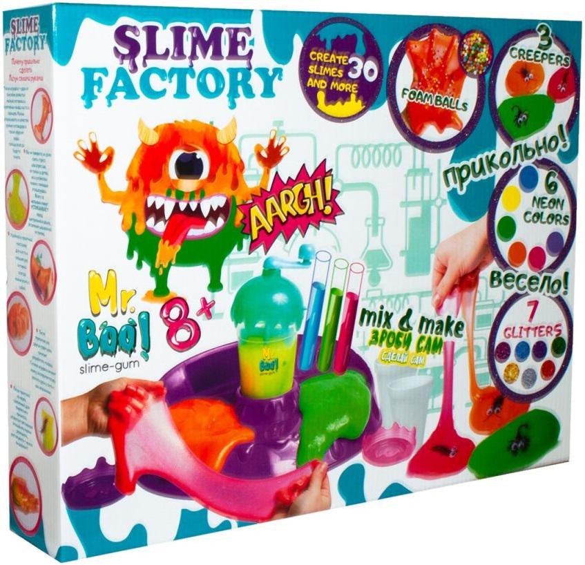 Купить Набор для экспериментов ОКТО 'Mr. Boo: Фабрика лизунов' (А80012)