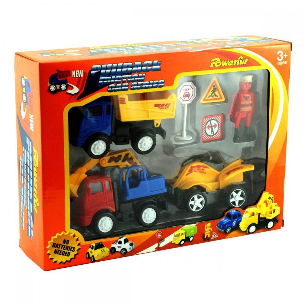 Купить Набор транспорта и аксессуаров Powerful Friction (558A1)