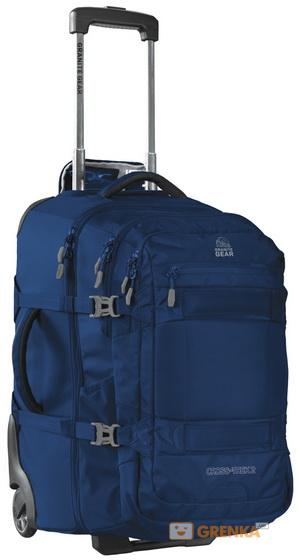 Сумка-рюкзак на колесах Granite Gear Cross Trek 2 W/Pack 74 Midnight Blue/Flint (926094)