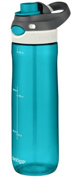 Купить Бутылка для воды Contigo Autospout Chug Water Bottle, Scuba 709 мл (2043403-2)