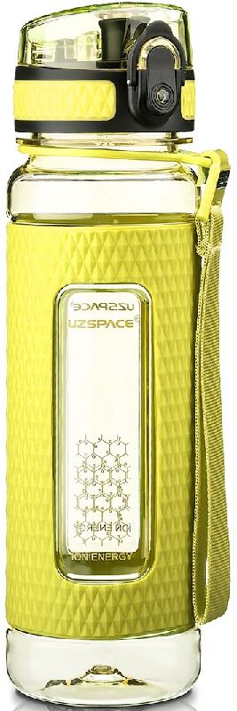 Купить Бутылка для воды спортивная Uzspace (450ml) зеленая (5044green)