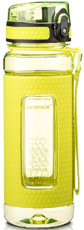 Купить Бутылка для воды спортивная Uzspace (700ml) зеленая (5045green)