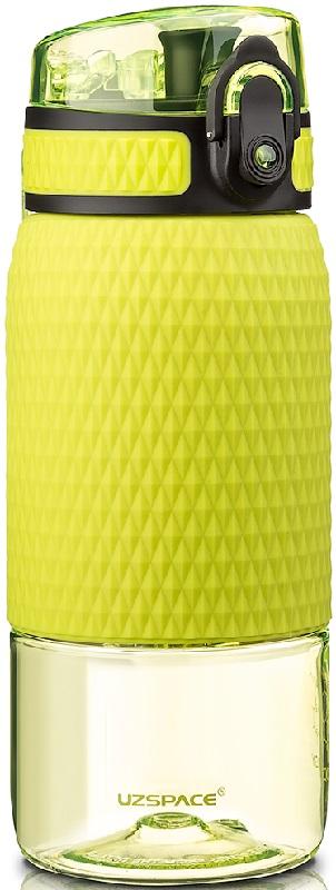 Купить Бутылка для воды спортивная Uzspace (350ml) зеленая (5055green)