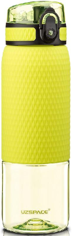 Купить Бутылка для воды спортивная Uzspace (500ml) зеленая (5056green)
