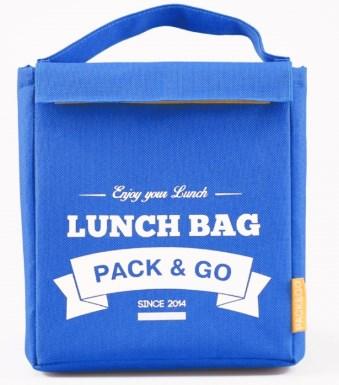 Термосумка ланч-бег Pack&Go Lunch Bag M, блакитний