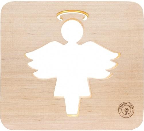 Настольная лампа-ночник Creative Light Dream Land 'Ангел' сосна (CL101051)