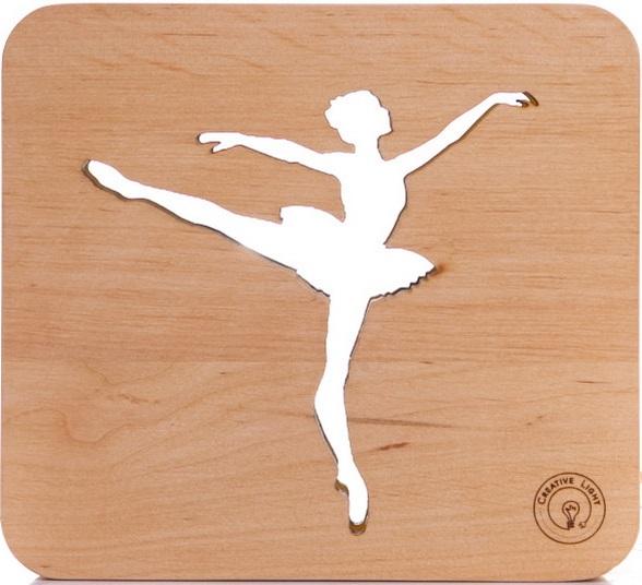 Настольная лампа-ночник Creative Light Dream Land 'Балерина' сосна (CL101052)