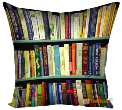 Купить Мужчине, Подушка Библиотека