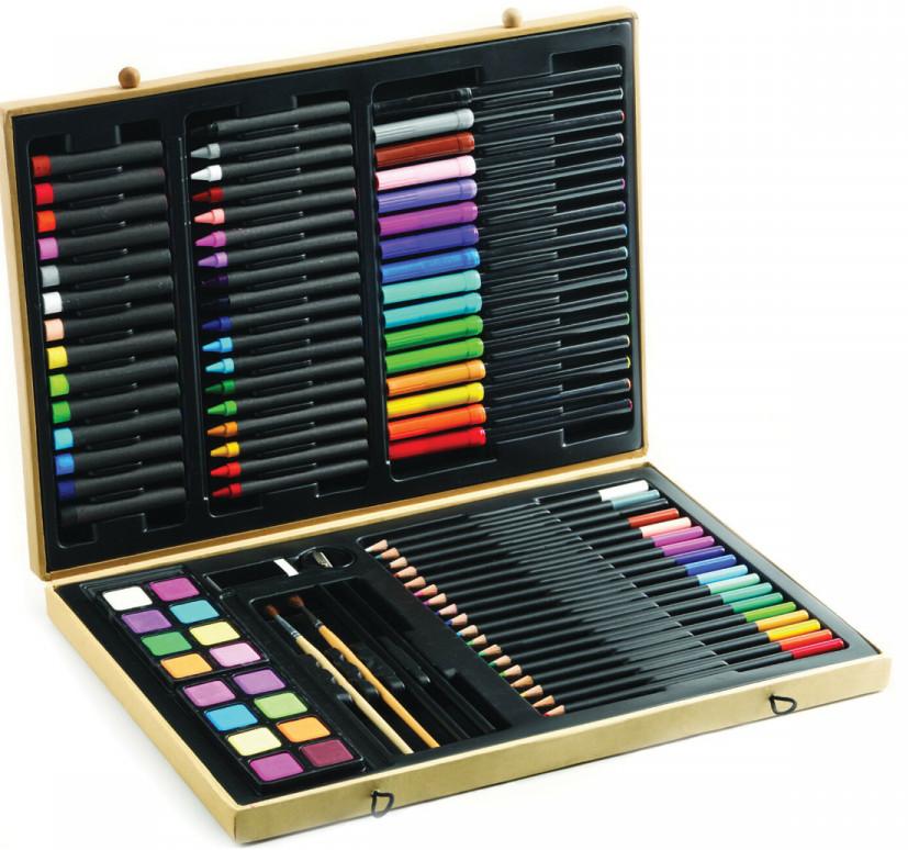 Наборы для рисования, Большой набор для рисования Djeco (DJ09750)  - купить со скидкой