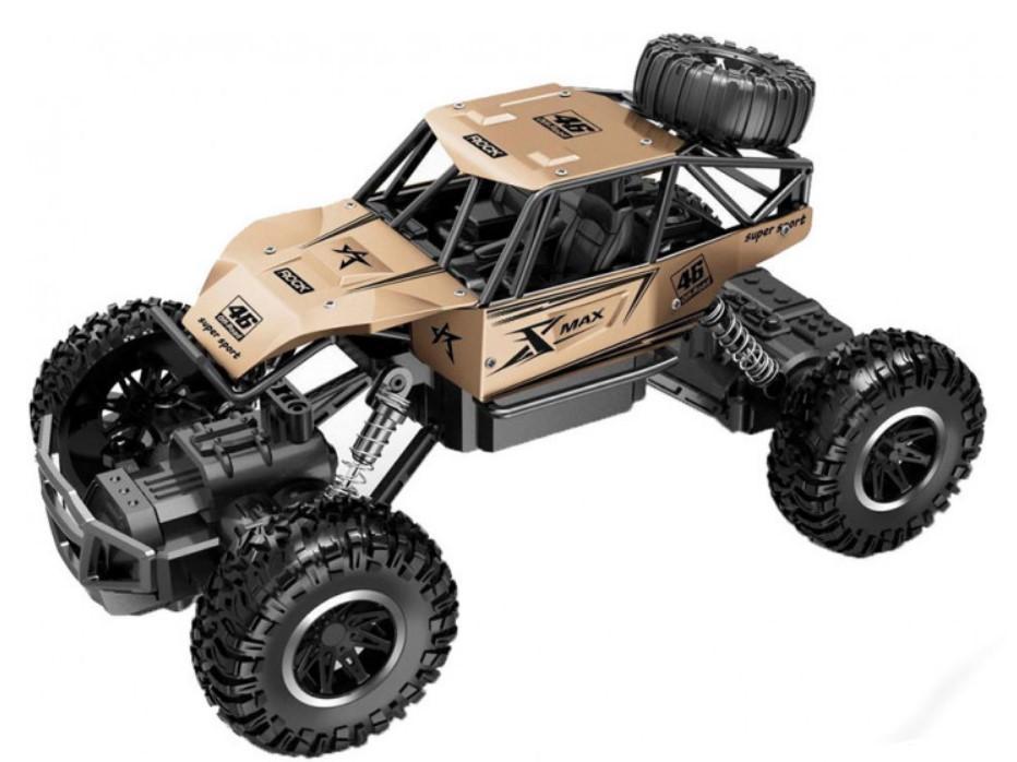 Машинка на радиоуправлении Sulong Toys Off-Road Crawler Rock Sport Золотой (SL-110AG)