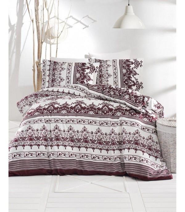 Комплект постельного белья Altinbasak (navy bordo)