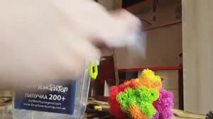фото Конструктор-липучка 'ХочуКонструктор' 100+ пластик бокс (ХК-100) #9