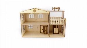фото Дерев'яний ігровий будиночок-конструктор (90446) #11