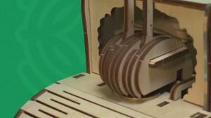 фото Механический конструктор из дерева Mr.Playwood 'Улитка-копилка' (10001) #8