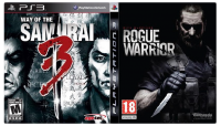 игра Сборник 2в1: Rogue Warrior + Way Of The Samurai 3 PS3