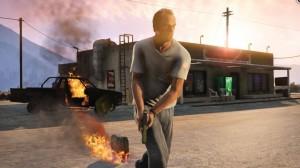 скриншот Grand Theft Auto 5 PS4 - Русская версия #4