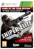 игра Sniper Elite V2. Game of The Year Edition X-BOX