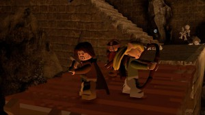 скриншот LEGO Lord of the Rings PS3 #6