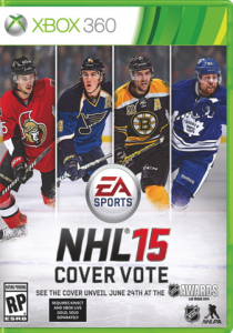 игра NHL 15 XBOX 360