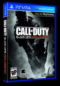 игра Call of Duty: Black Ops Declassified PS Vita
