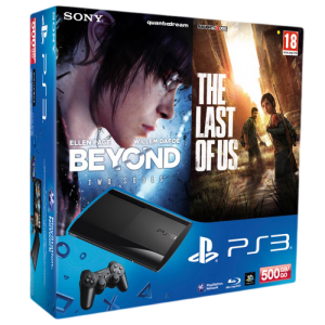 Приставка Sony PlayStation 3 Last of Us, Beyond Two Souls Bundle