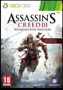игра Assassins Creed 3. Washington Edition X-BOX