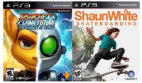 игра Сборник 2в1: Ratchet & Clank: A Crack in Time + Shaun White Skateboarding PS3