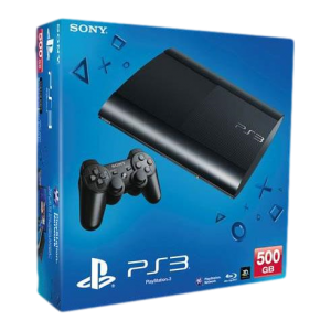 Приставка Sony Playstation 3 Super Slim (500Gb, CECH-4008C)