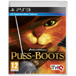 игра Puss in Boots: The Video Game. Кот в сапогах PS3