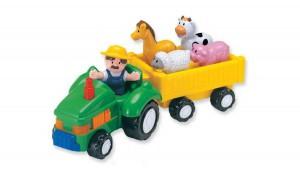 Игровой набор 'Фермерский трактор со звуковыми эффектами'